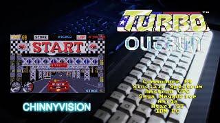 ChinnyVision  Ep 363  Turbo Outrun  C64, Spectrum, CPC, PC, ST, Amiga, Sega Megadrive
