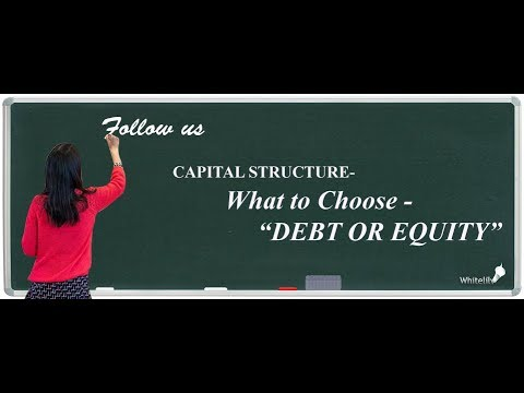 Capital Structure Chapter 9 Class 12 Business Studies