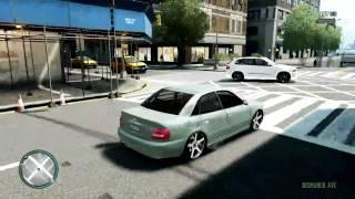 [GTA 4] Review : Audi S4 1999 B5. HD