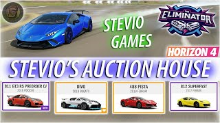 AUCTION HOUSE RARE CAR GIVEAWAY Forza Horizon 4 The Eliminator Gameplay Forza Horizon 4 Live Stream