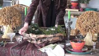 Tracy Porter Decorating Video... Thanksgiving Tabletop Tips, Ideas & Inspirations!