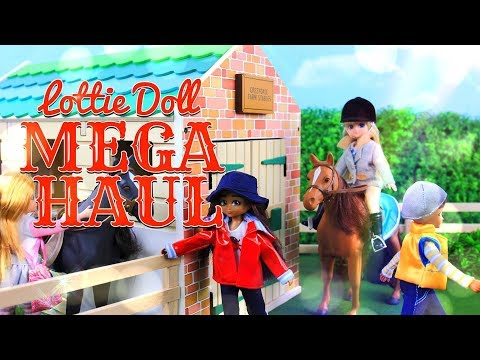 Unbox Daily: Lottie Doll MEGA HAUL | Articulated dolls, Horse & Stable, Dollhouse & More