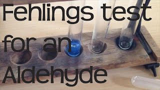 Fehlings test for an Aldehyde  | Chemistry A-Level Required Practical