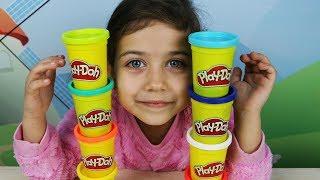 Учим цвета на английском вместе с Эмилюшей и Play Doh!
