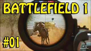 BATTLEFIELD 1 SNIPER  (BETA XBOX ONE #01)