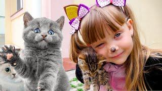 Nastya little play - Children's song Nursery rhymes