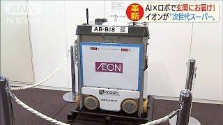 イオンが次世代スーパー AIとロボ駆使しお届け(19/11/29)