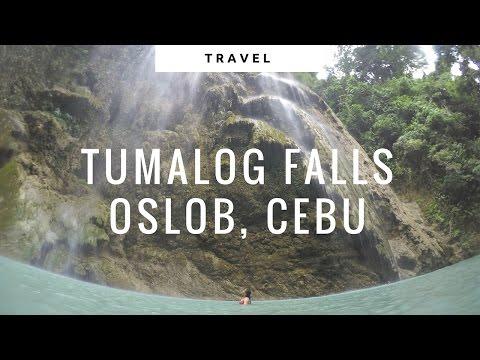 Quick Tumalog Falls Visit at Oslob, Cebu
