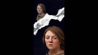 Как выглядела женщина в 250 г н.э. Нейросеть оживила портрет древнего человека Shorts
