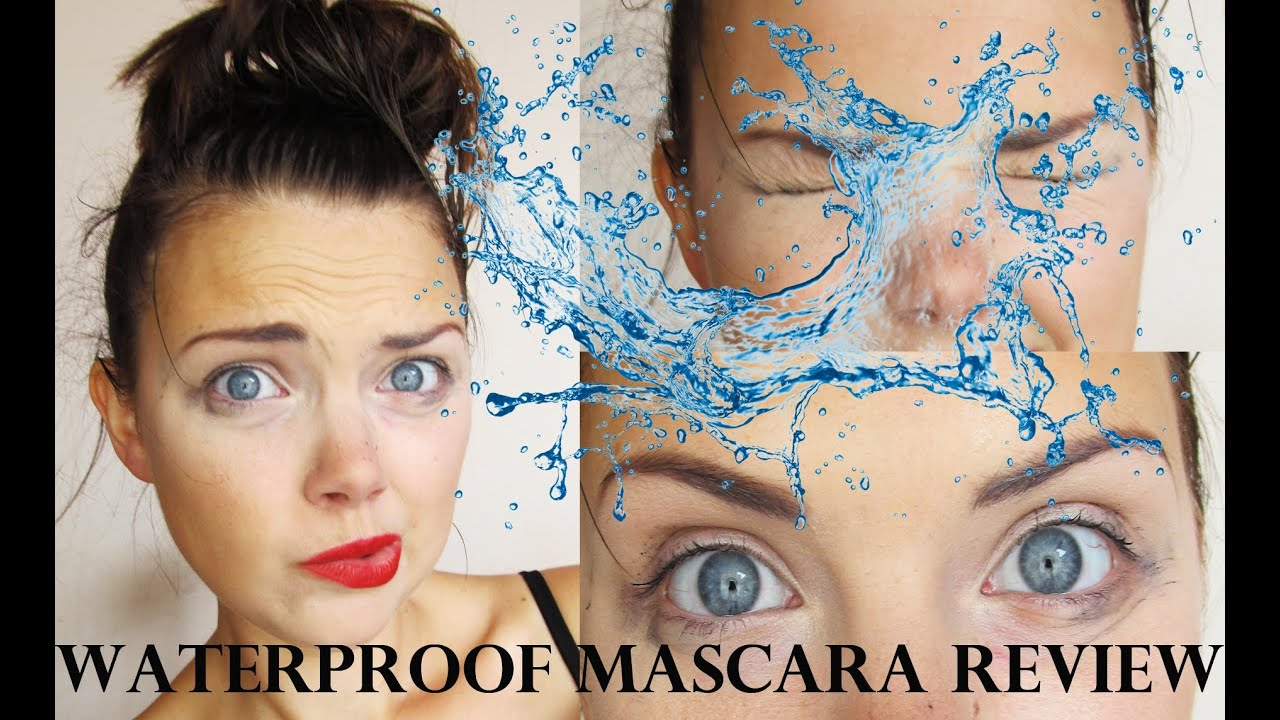 Waterproof Mascara Review - Summer 2013 - YouTube