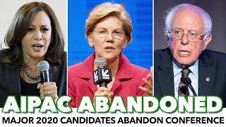 Major 2020 Candidates Abandon AIPAC Conference