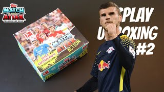 MATCH ATTAX ACTION 2018/19 DISPLAY UNBOXING #2 | Topps