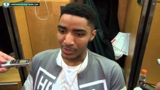Gary Harris discusses the NBA, missing Michigan State and Tom Izzo as an NBA coach