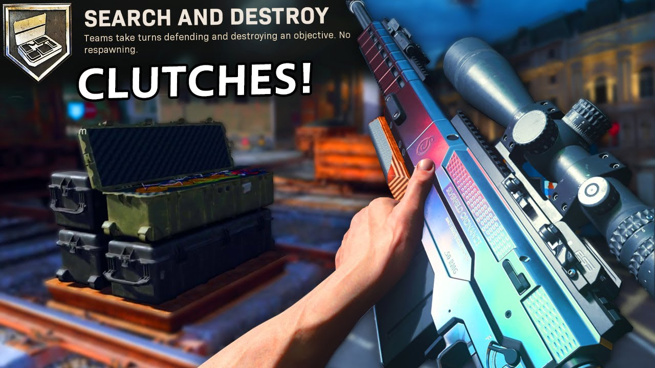 TOP TIER MODERN WARFARE SEARCH AND DESTROY CLUTCHES!
