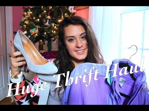 Huge Thrift Haul!    Ft J Crew, vintage finds, Juicy Couture, Tommy Hilfiger