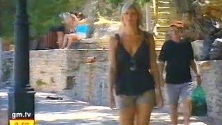 Jenni Falconer on holiday