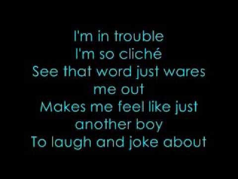 Trouble - nevershoutnever (with lyrics)