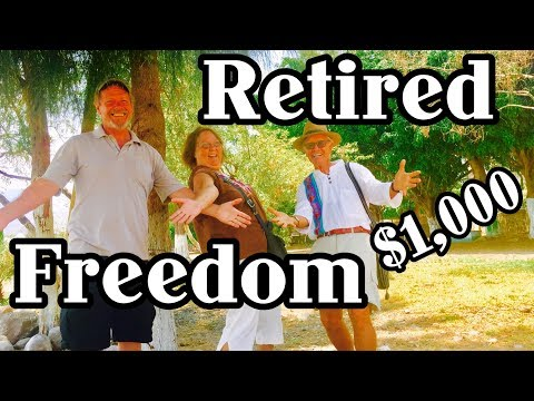 Retired and freedom on $1000 Lake Chapala, Ajijic ,Sayulita, Mazatlan,  Puerto Vallarta