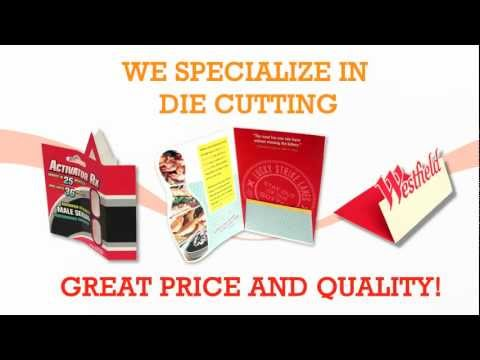 Die Cutting Specialist in Los Angeles by Gold Image Printing