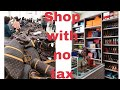 SHOP with no TAX