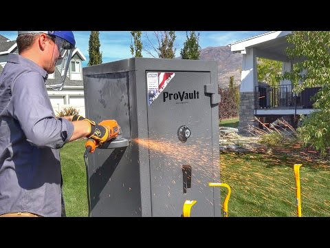 What's inside a GIANT SAFE?