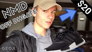 DHGATE BEST NMD FOR CHEAP!! REVIEW/ON FOOT!