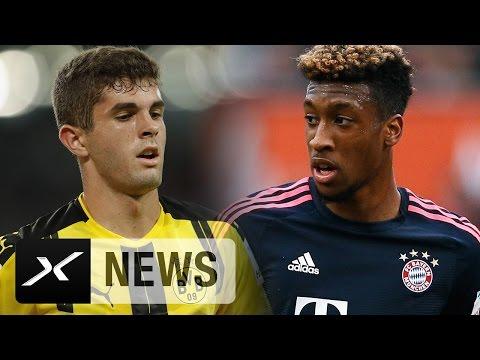 FC Bayern München will Kingsley Coman! Geht Christian Pulisic? | Transfer-News | Bundesliga