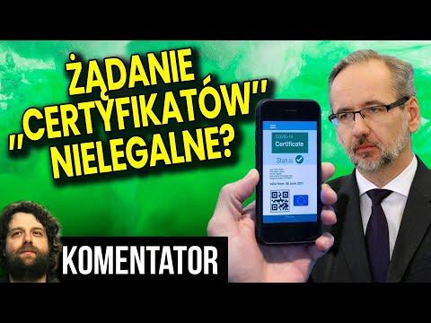 """Żądanie  """"Certyfikatów"""" Jest Nielegalne w Polsce? UODO Wydał Komunikat! - Analiza Komentat"""