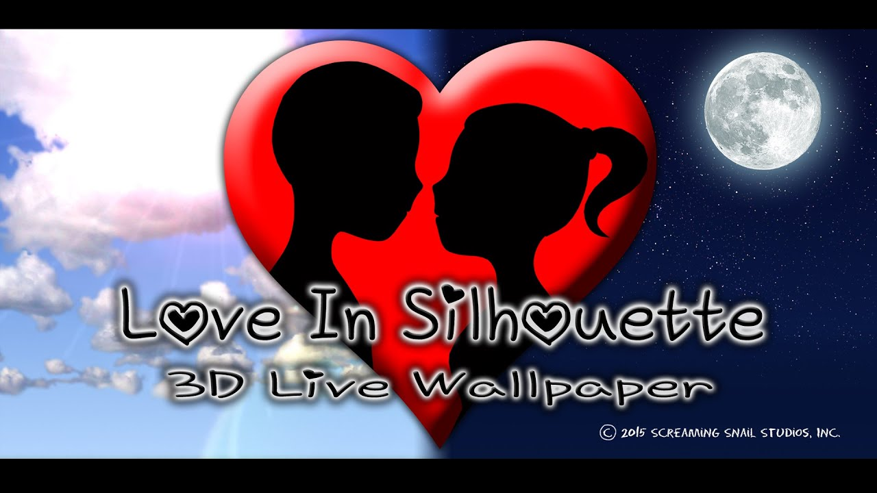 Love In Silhouette 3D Live Wallpaper for Android