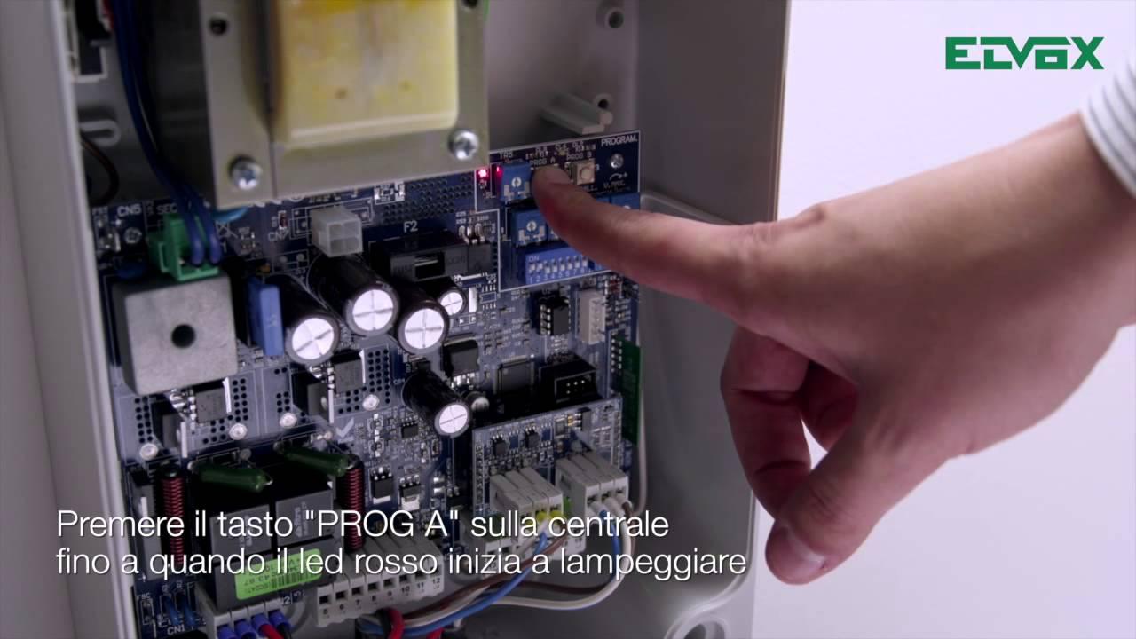 Schema Elettrico Elvox : Motori per serrande con schema elettrico selettore a chiave e