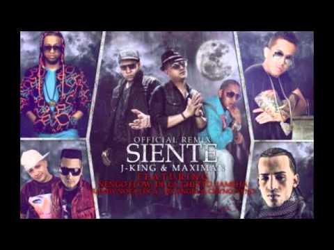 SIENTE REMIX J King Y Maximan ft Arcangel De La Ghetto Randy Ñengo Flow REGGAETON 2012