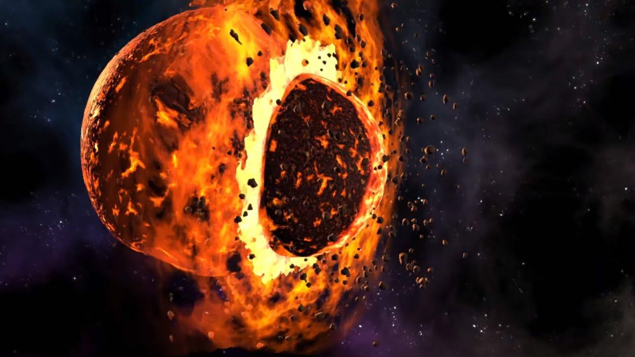 Die Entstehung Des Mondes