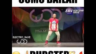 This guy's freestyle dance moves will melt your mind