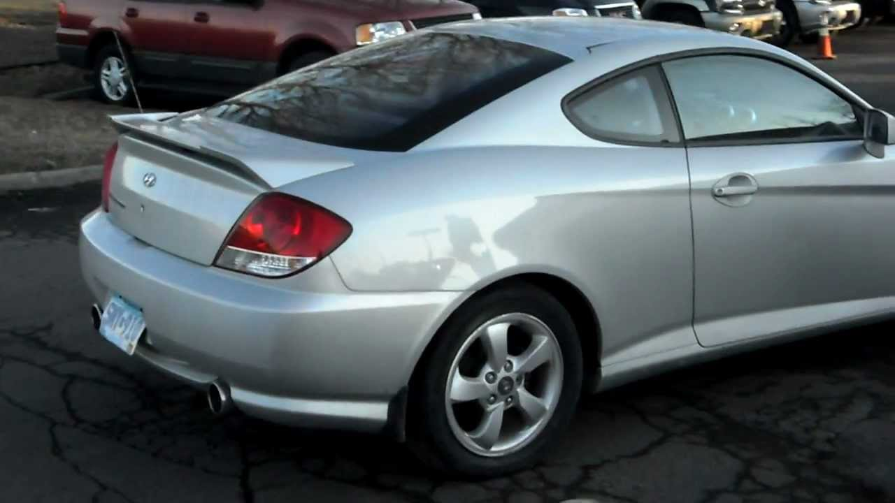 2006 Hyundai Tiburon GS, coupe, 2.0 4cyl, 5 speed, LOADED, clean ...