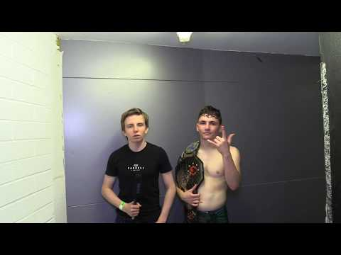 Liam Gittins CW Academy NW 1 Post Fight Interview