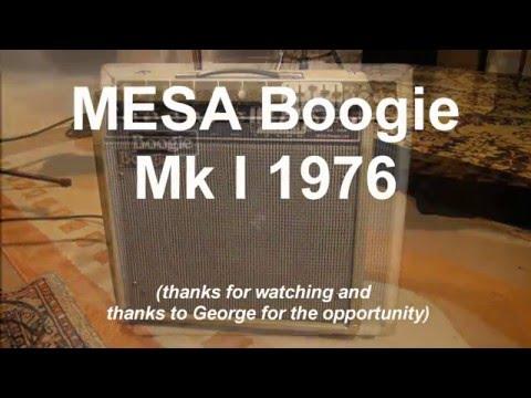 MESA Boogie MkI
