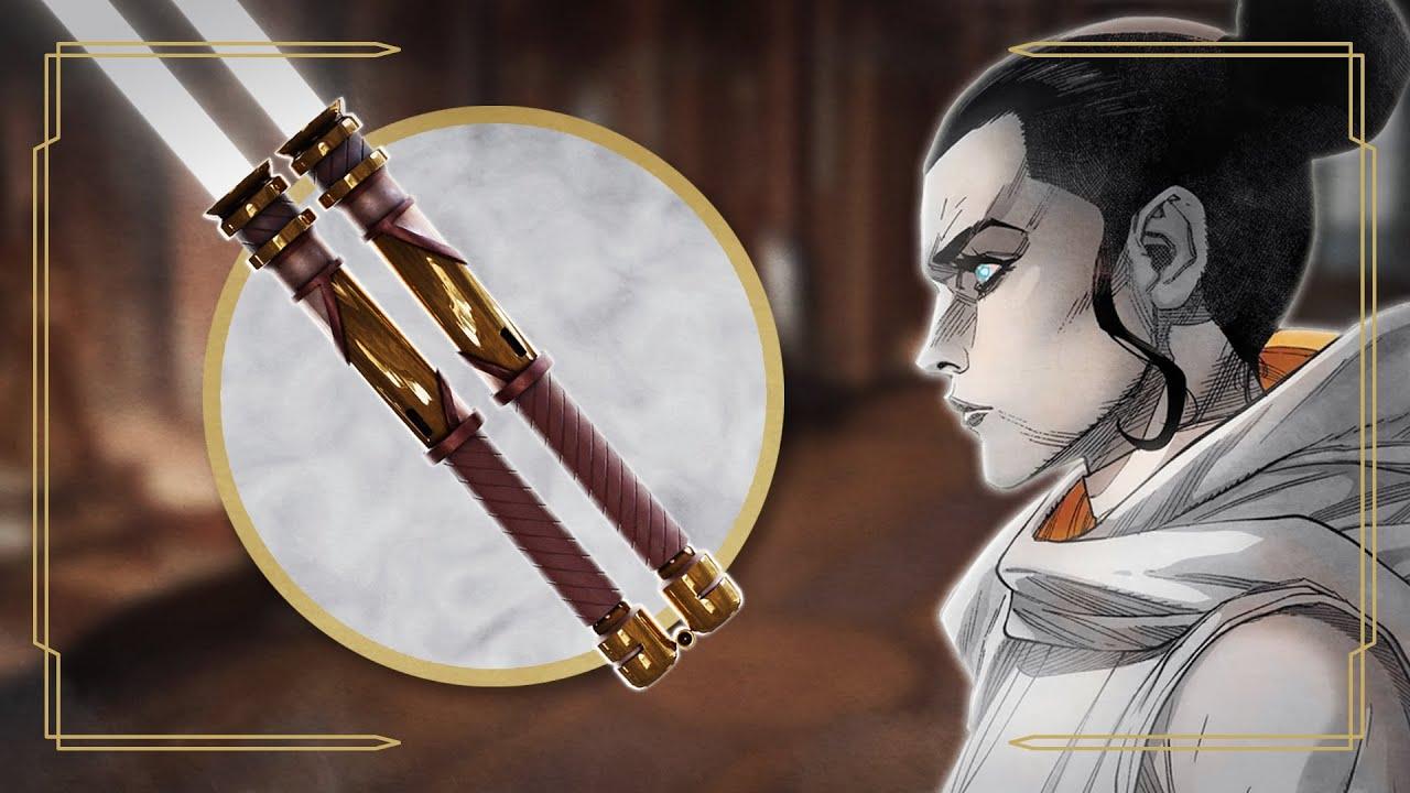 Die EINZIGE Jedi, die weiße Lichtschwerter benutzen durfte (neben Ahsoka)
