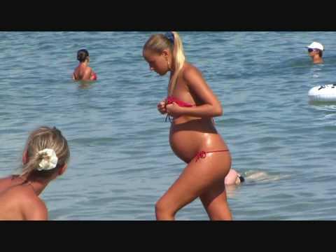 Pregnant Model 13
