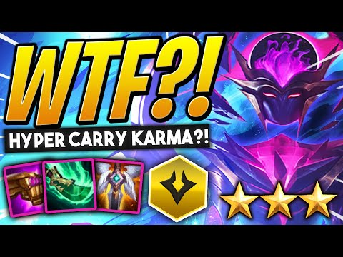 6 Dark Stars but KARMA is THE CARRY!? | TFT Galaxies Guide | Teamfight Tactics Set 3 | LoL