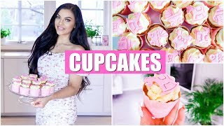 Dødsgode CupCakes - Hvordan Lage CupCakes! Gulrot CupCakes Med Cream Cheese Frosting!