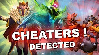 Dota 2 Cheaters: Morphling, Clinkz, Techis, SF and Skywrath Mage!