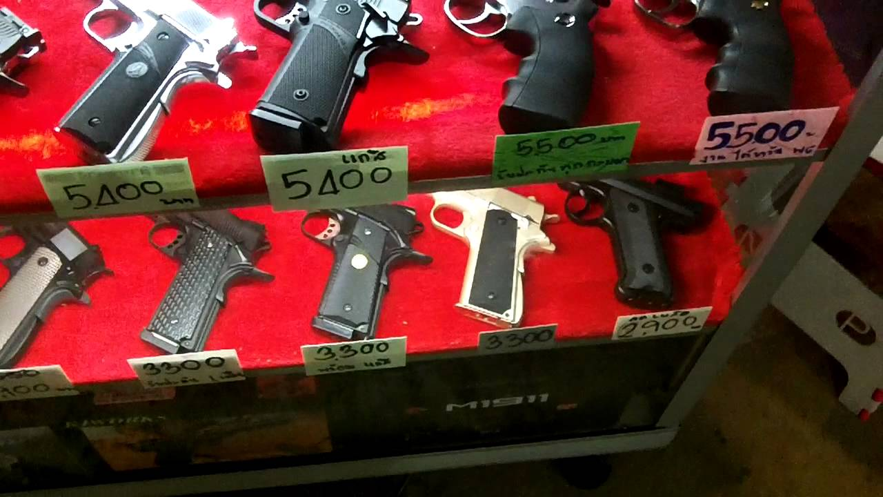 Shopping for toy guns in thailand lol youtube for Bb shopping it