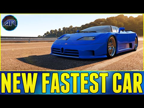 Forza Horizon 2 New Fastest Car Bugatti Eb110 Top