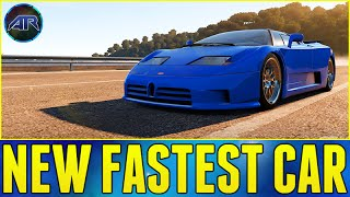 Forza Horizon 2 : NEW FASTEST CAR!!! (Bugatti EB110 Top Speed Build)