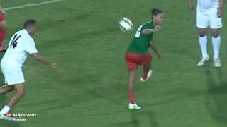 Ronaldinho pulled off a no-look assist at Mustapha Hadji's testimonial 2015