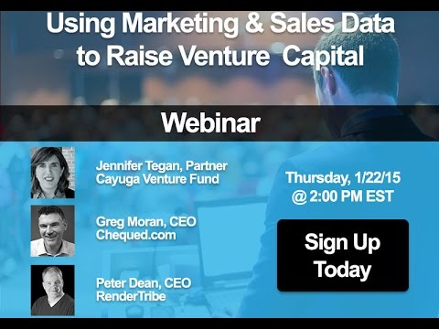 Using Marketing & Sales Analytics to Raise Venture Capital