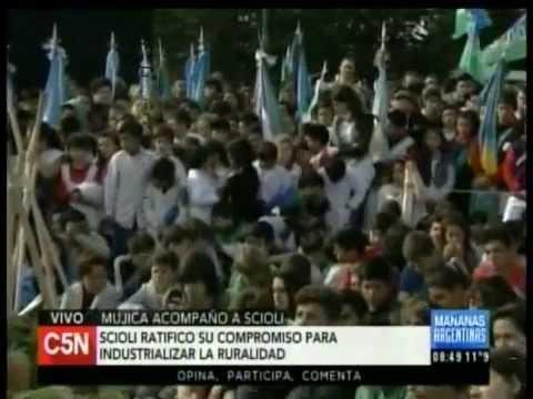 C5N - Politica: Pepe Mujica acompaño a Daniel Scioli