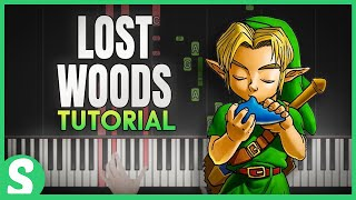 "How To Play ""Lost Woods"" from Legend of Zelda 