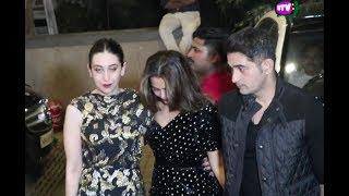 Bollywood Actress Fully Drunk After Late Night Party !