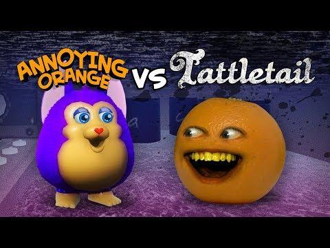 Annoying Orange vs Tattletail #Shocktober